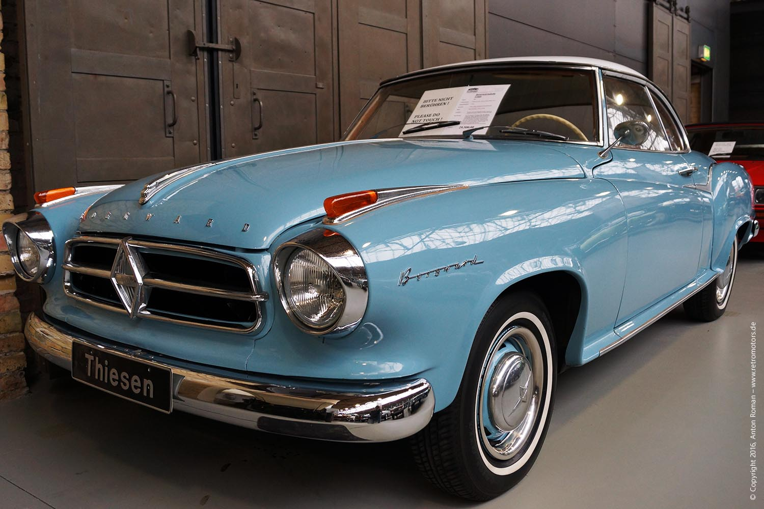 1960 Borgward Isabella Coupe