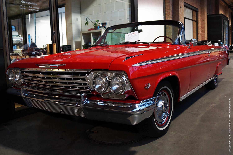 1962 Chevrolet Impala SS (Super Sport) Cabrio