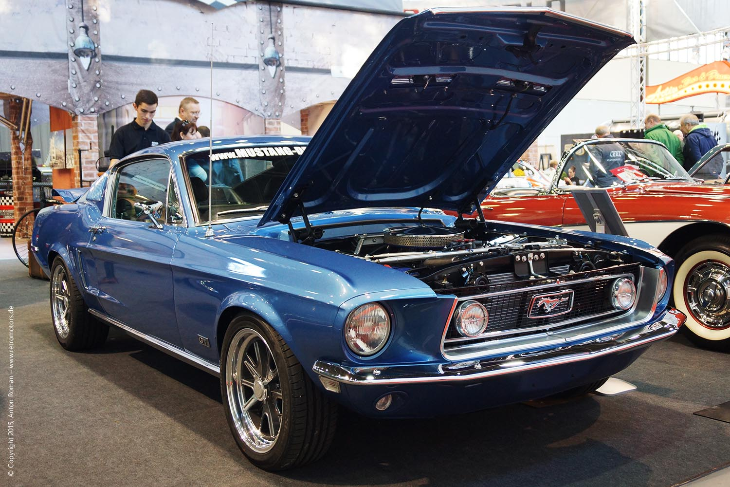 1968 Ford Mustang Fastback GTA