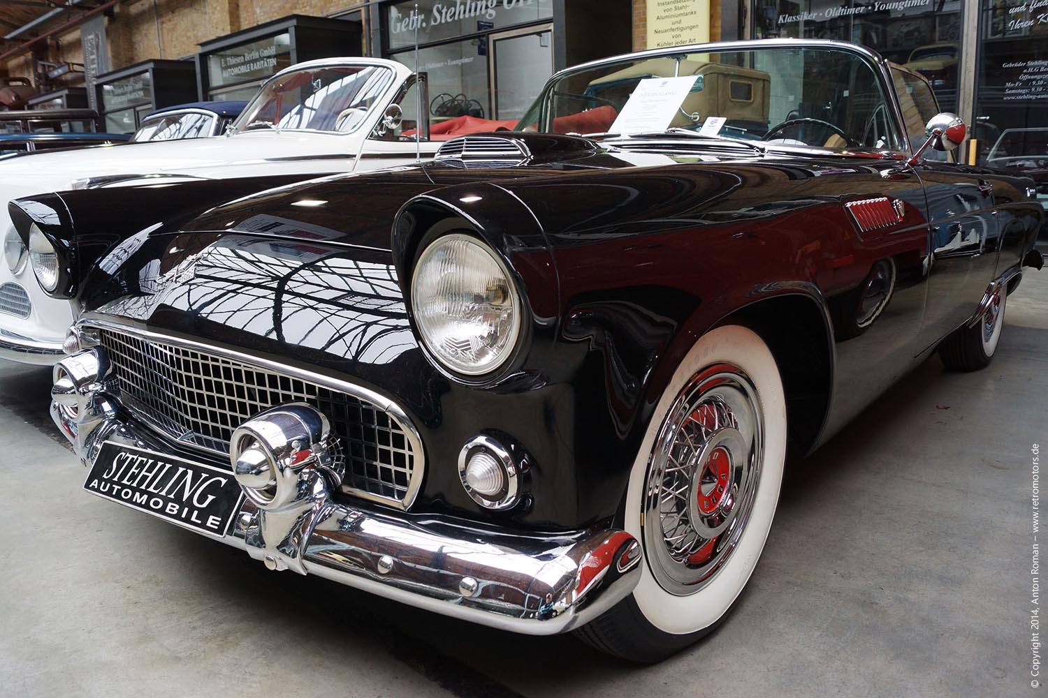 1955 Ford Thunderbird I generation