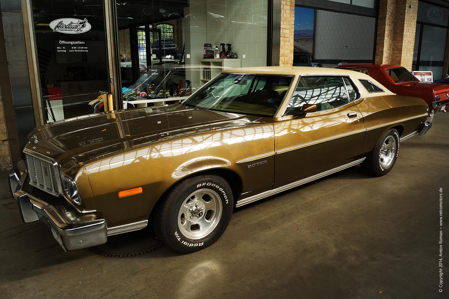 1974 Ford Gran Torino Brougham Retromotors Wir Lieben Autos 1964 Grand