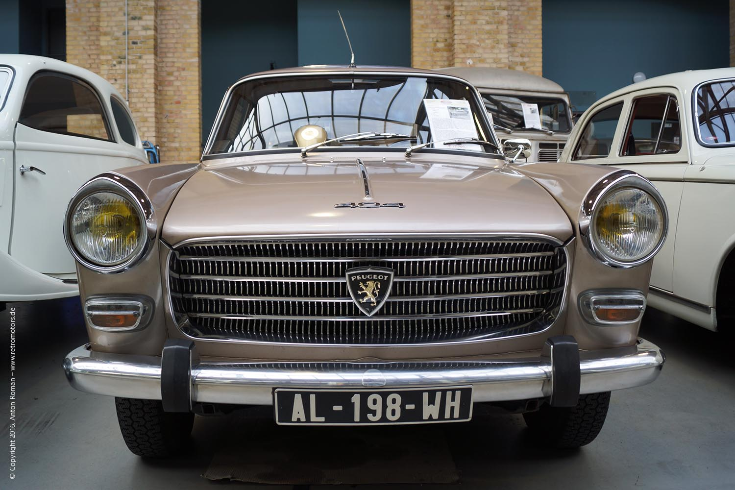 1965 Peugeot 404 Superluxe Injection