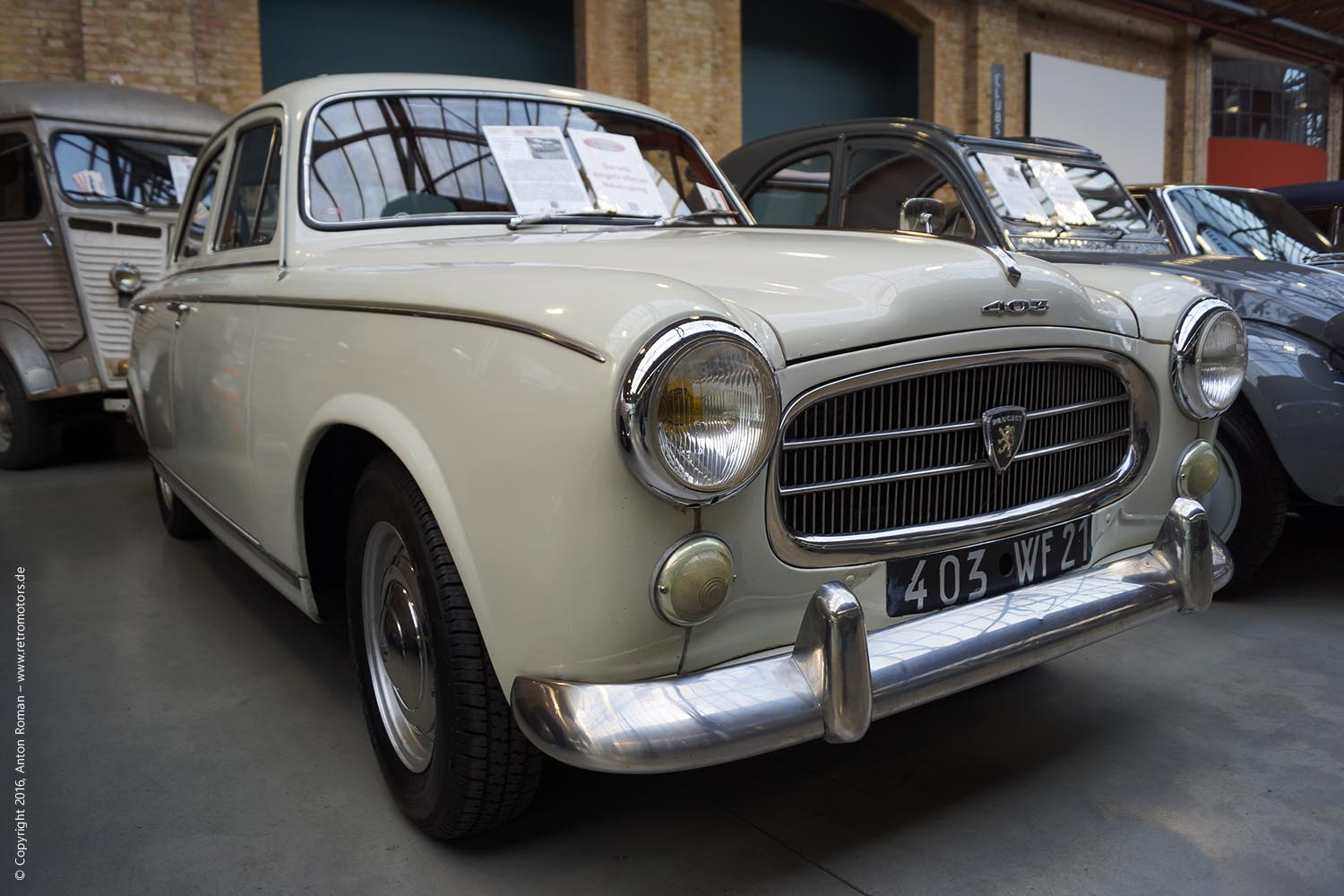 1965 Peugeot 403 Grand Luxe 1500